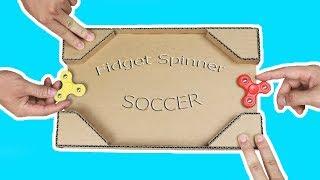 Fidget Spinner Fussball Tisch selber bauen - DiY