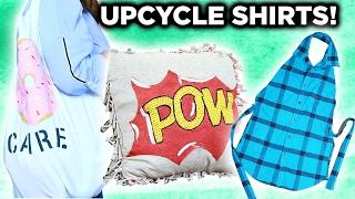 3 Ways To Repurpose Old Shirts