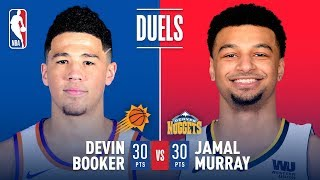 Devin Booker & Jamal Murray Duel It Out In Denver