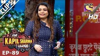 Kapil Sharma Flirting With Vaibhavi Merchant - The Kapil Sharma Show - 12th Mar 2017