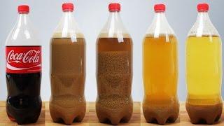 Was passiert wenn man Cola mit Milch mischt?!