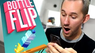 More Bottle Flipping?! | 10 Apps That Will Waste Your Life!
