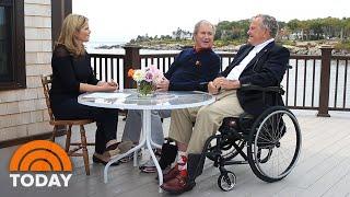 Watch Jenna Bush Hager And George W. Bush Talk Family With George H.W. Bush | TODAY