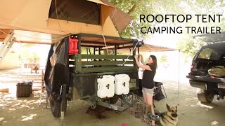 Our Rooftop Tent Camping Trailer