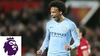 Man City's Leroy Sane on derby win over Man United, title race with Liverpool | NBC Sports