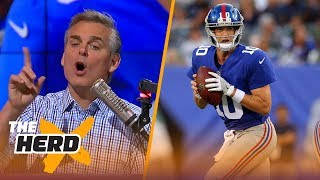 Eli Manning confuses NFL fans - Colin Cowherd explains why | THE HERD