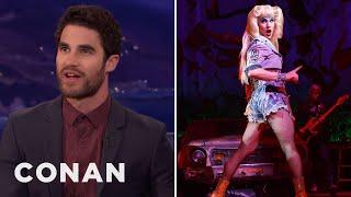Darren Criss Thinks He Looks Better As A Woman  - CONAN on TBS