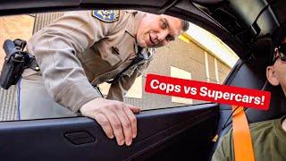 COPS VS SUPERCAR OWNERS MEGA COMPILATION!