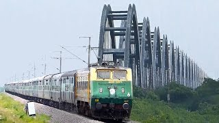 EAST COAST TRAINS : Indian Railways ELECTRIFIED !