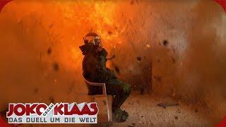 Polen: Haussprengung im Bombsuit | Joko gegen Klaas - Das Duell um die Welt | ProSieben