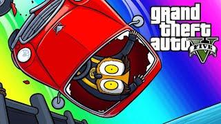 GTA5 Vespucci Job Funny Moments - Moo