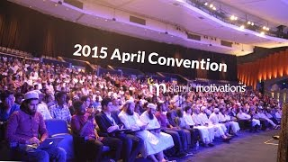 Islamic Motivations || April Convention 2015 Trailer