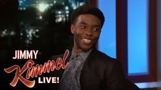 Chadwick Boseman on Playing Black Panther