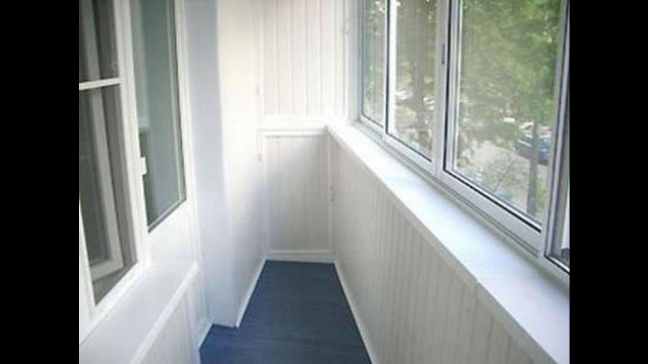 Ремонт балкона своими руками в хрущевке видео
