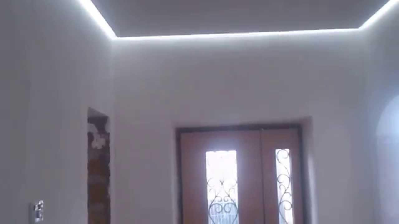 Парящий потолок из гипсокартона своими руками