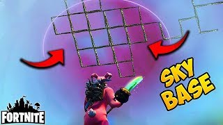 IMPOSSIBLE SKY BASE WIN! - Fortnite Funny Fails and WTF Moments! #165 (Daily Moments)