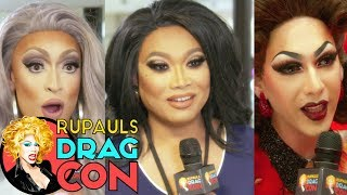 Are you tucked? With Violet, Jujubee, Tatianna, Ongina & more at RuPaul