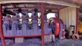 450 Hp 1930 Fairbanks Morse Diesel Engine Startup