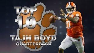 Top 10 Moments | Tajh Boyd, Clemson | ACCDigitalNetwork