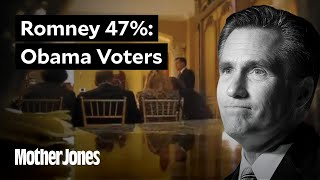 Mitt Romney on Obama Voters