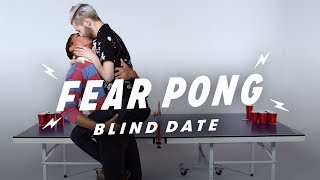 Blind Dates Play Fear Pong (Braidon vs. Curtis) | Fear Pong | Cut