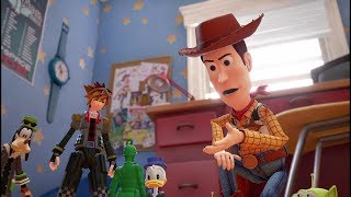 KINGDOM HEARTS III – D23 2017 Toy Story Trailer [multi-language subs]