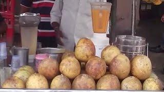 Amazing Wood Apple (Bael ) juice l Street Foo  India Kolkata