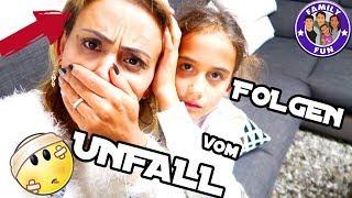 UNFALL MIT FOLGEN | GEHIRNERSCHÜTTERUNG? Vlog #141 Our life FAMILY FUN