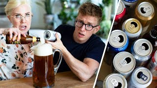 Mixing 19 Beers Into One Giant Beer! (ft. Tyler Oakley)