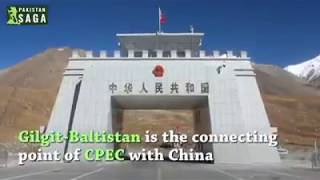 Gilgit Baltistan is The connecting point of CPEC with China