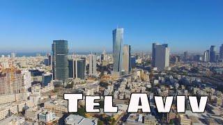 Tel Aviv Aerial 4K תל אביב