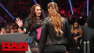 Ronda Rousey and Nia Jax