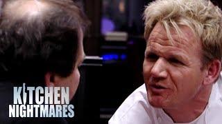 "FURIOUS Showdown Between ""Gordy"" & Ungrateful Owner! | Kitchen Nightmares"