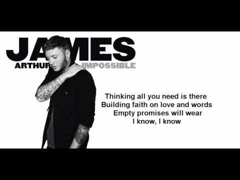 Скачать песню james arthur - impossible (рингтон) 42632602
