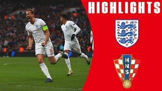 England 2-1 Croatia | Late Harry Kane Goal Seals Dramatic Comeback | Official Highlights