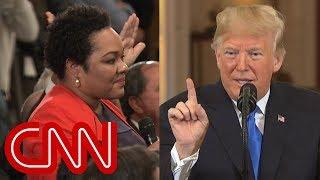 Trump calls reporter