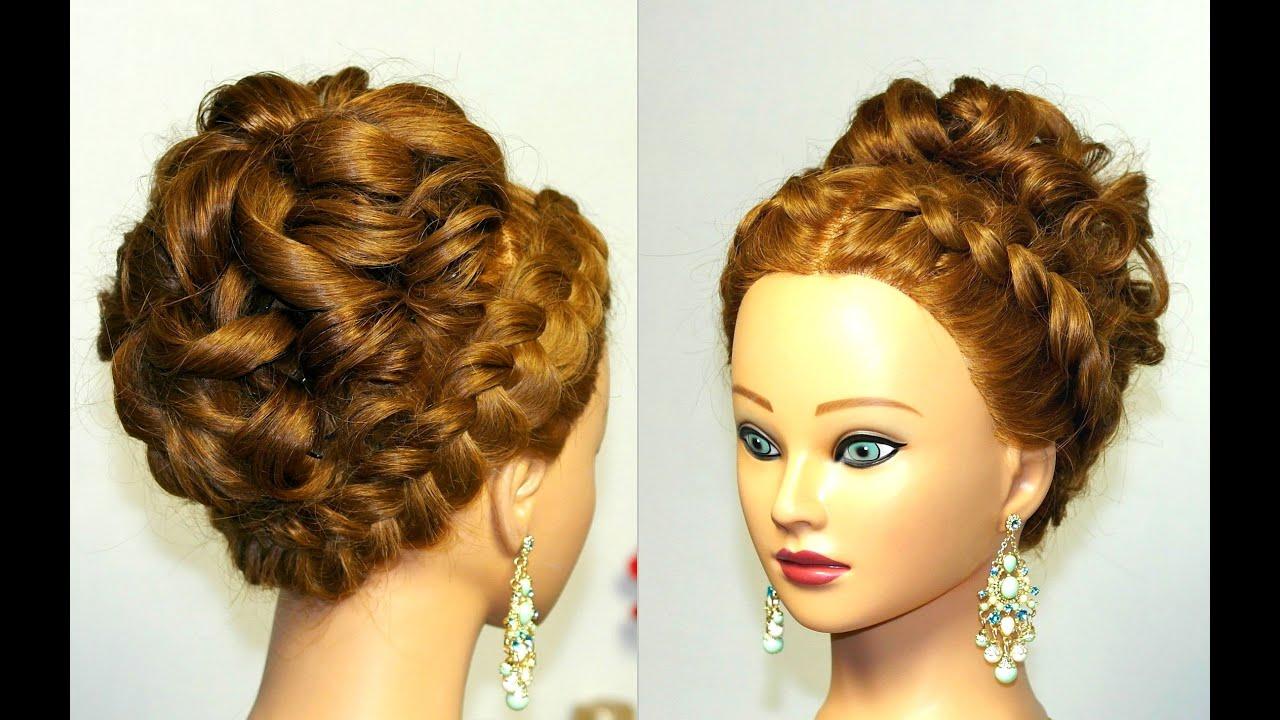 Прически из кос на длинный волос фото