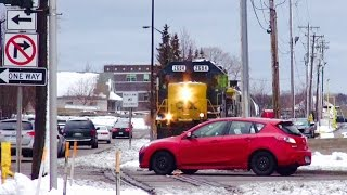 TRRS 467: Idiot Alert! CSX Train Stops to Avoid Collision!
