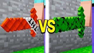 TNT SWORD vs CACTUS SWORD IN MINECRAFT!