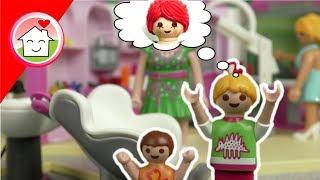 Playmobil Film deutsch - Familie Hauser beim Friseur - Kinderserie von Family Stories