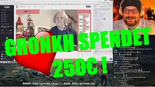 Gronkh überrascht OMA auf Twitch! 4500€ SPENDEN! 6.1.2017 [BEST OF]