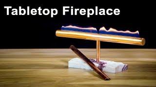 Decorative Table Top Fireplace DIY