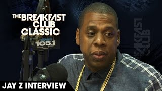 The Breakfast Club Classic - Jay Z Interview 2013