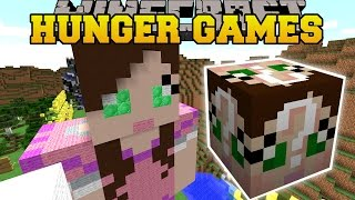 Minecraft: GAMINGWITHJEN HUNGER GAMES - Lucky Block Mod - Modded Mini-Game