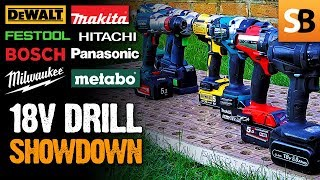 18v Cordless Drill Test Review Part 3 - Who won?