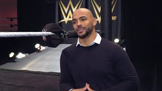 "What excites Trevor ""Ricochet"" Mann most about joining the WWE Performance Center?"