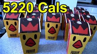 160 Chicken Fries Challenge