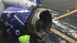 Listen to Southwest pilot calmly land plane after engine apparently exploded