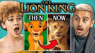 College Kids React To New Lion King Trailer (Disney)