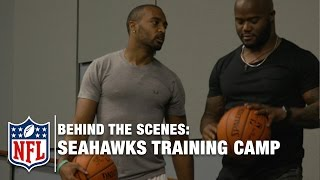 Seahawks Training Camp: A Day in the Life | Behind the Scenes with Michael Robinson | NFL Network